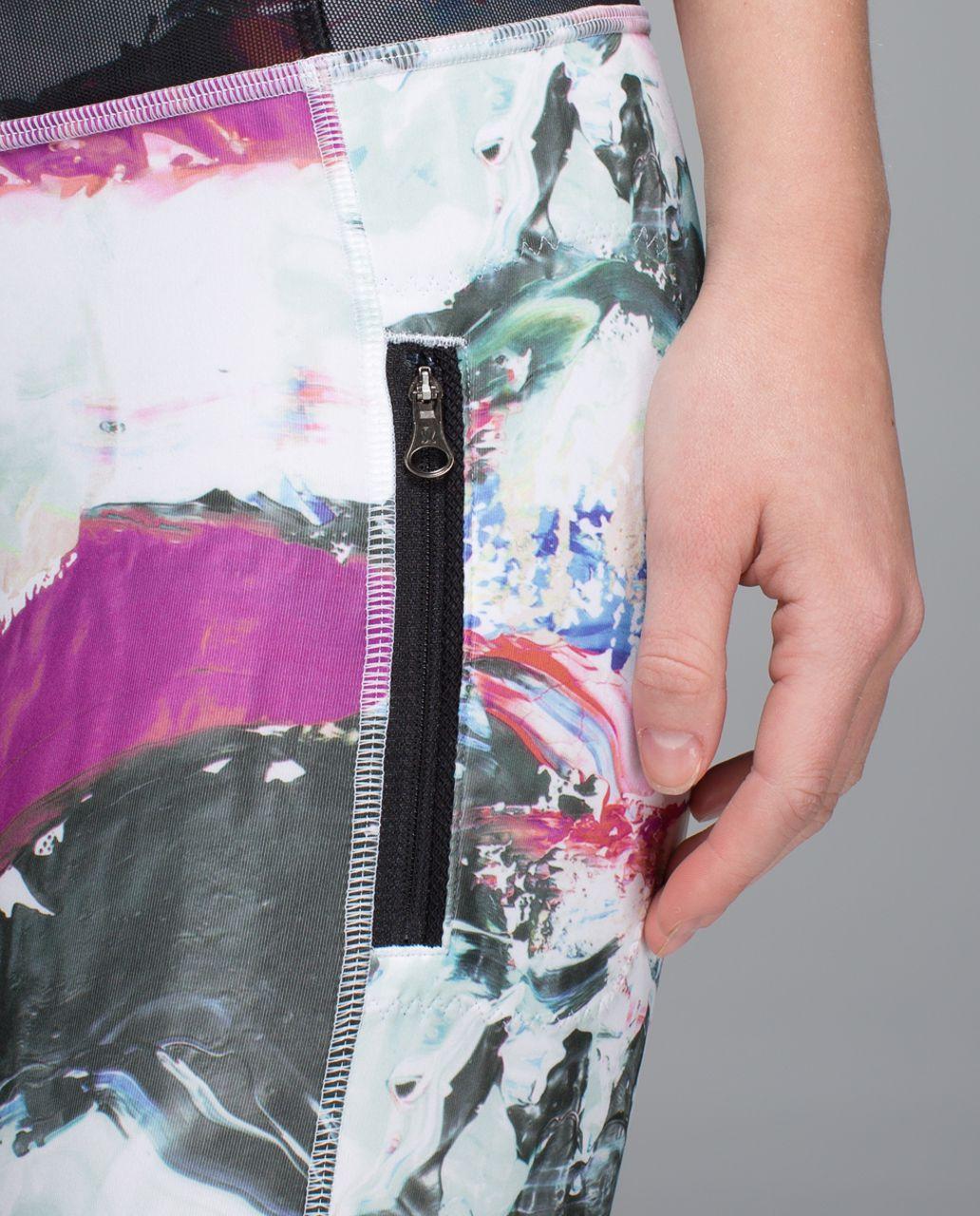 Lululemon Inspire Tight II *Full-On Luxtreme (Mesh) - Pigment Wave Multi / Black