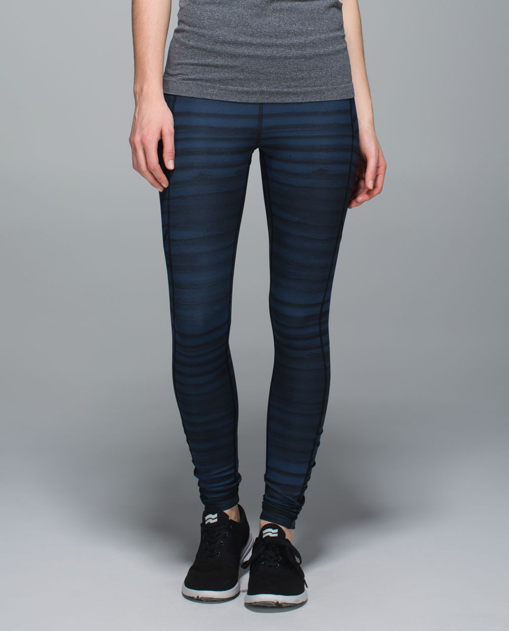 Lululemon Speed Tight III *All Full-On Luxtreme - Good Vibes Deep Navy Black