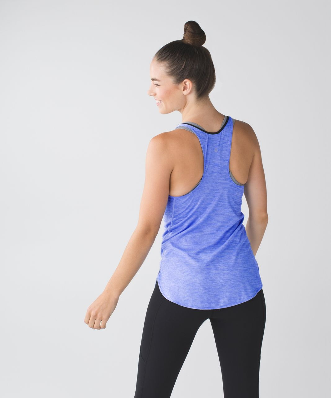 Lululemon What The Sport Singlet - Heathered Lullaby