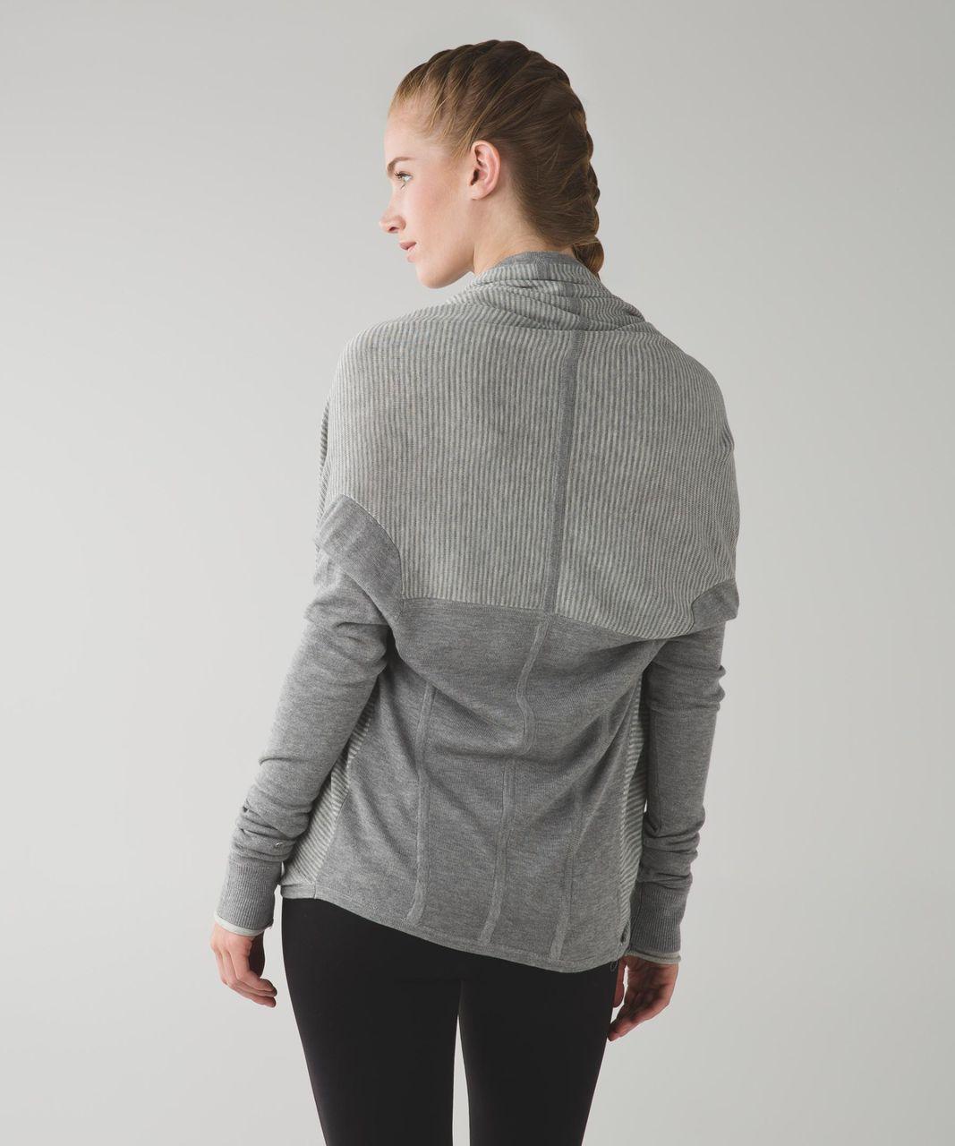 e2395a43a1 Lululemon Iconic Wrap - Heathered Medium Grey   Heathered Light Grey - lulu  fanatics