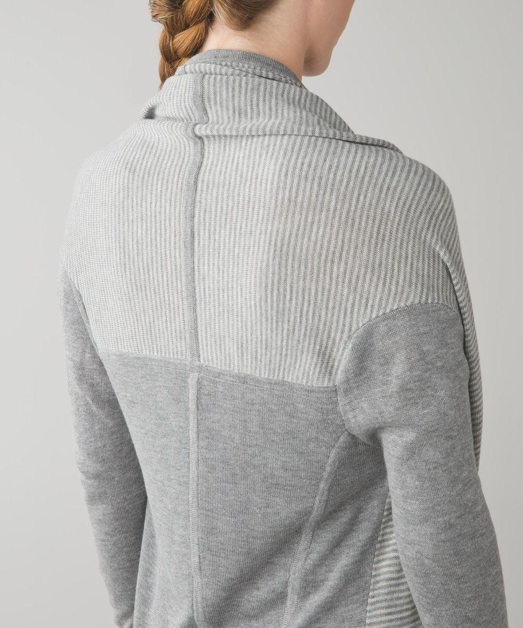83b863dde3 Lululemon Iconic Wrap - Heathered Medium Grey   Heathered Light Grey ...