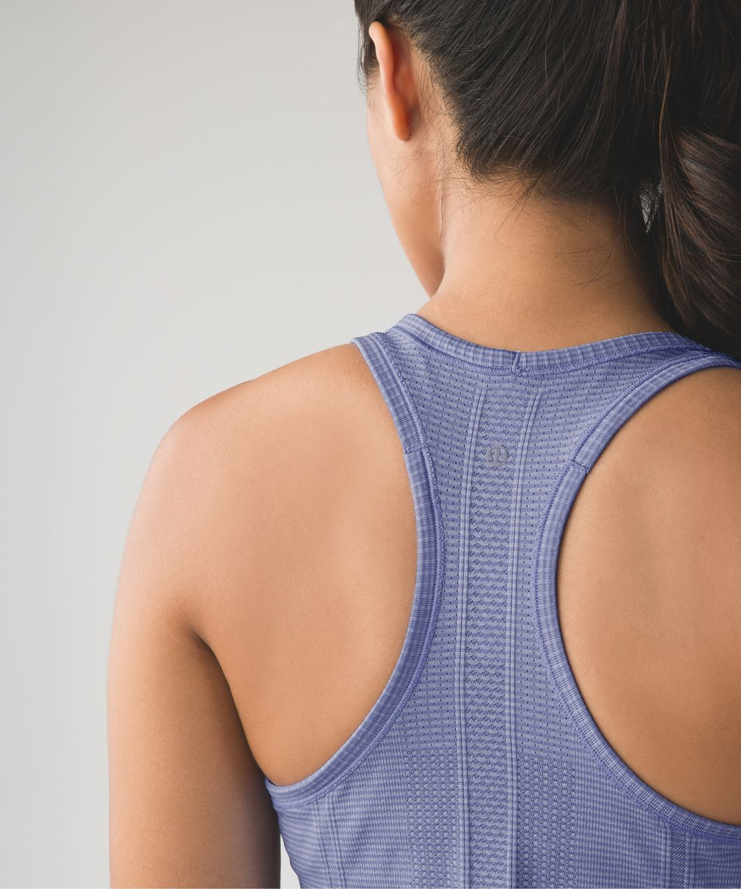 Lululemon Run:  Swiftly Tech Racerback - Heathered Lullaby