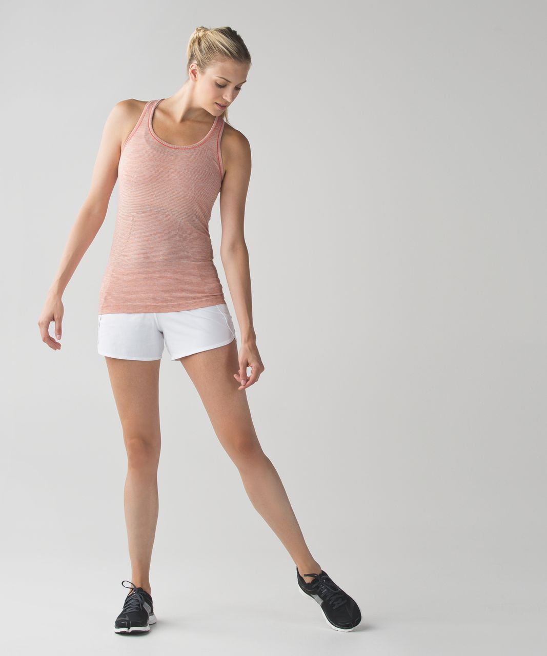 Lululemon Run:  Swiftly Tech Racerback - Jewelled Magenta / Peach Fuzz