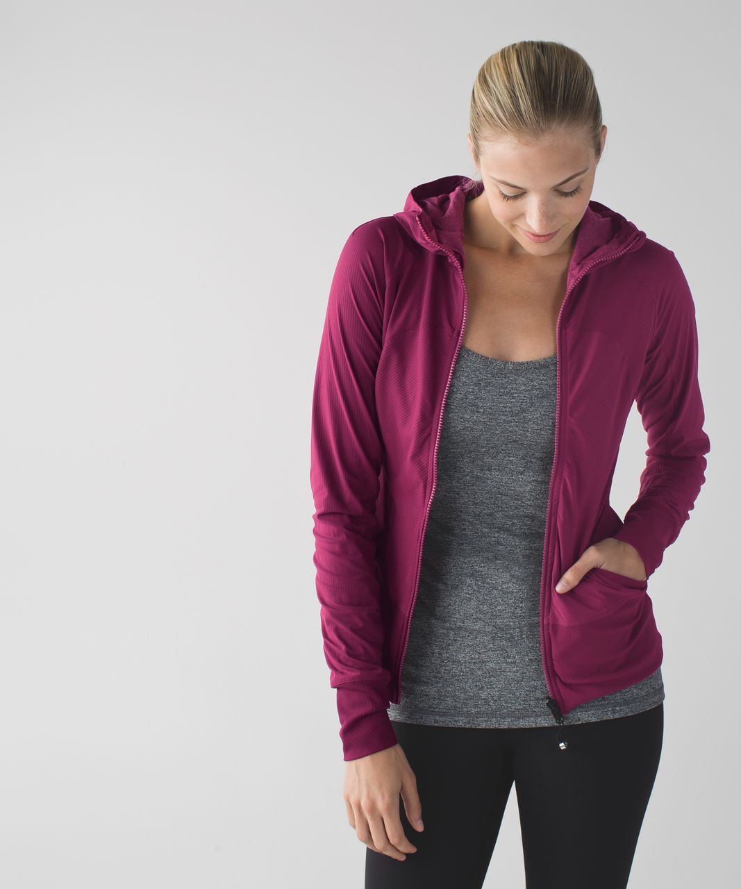 Lululemon In Flux Jacket - Dashing Purple