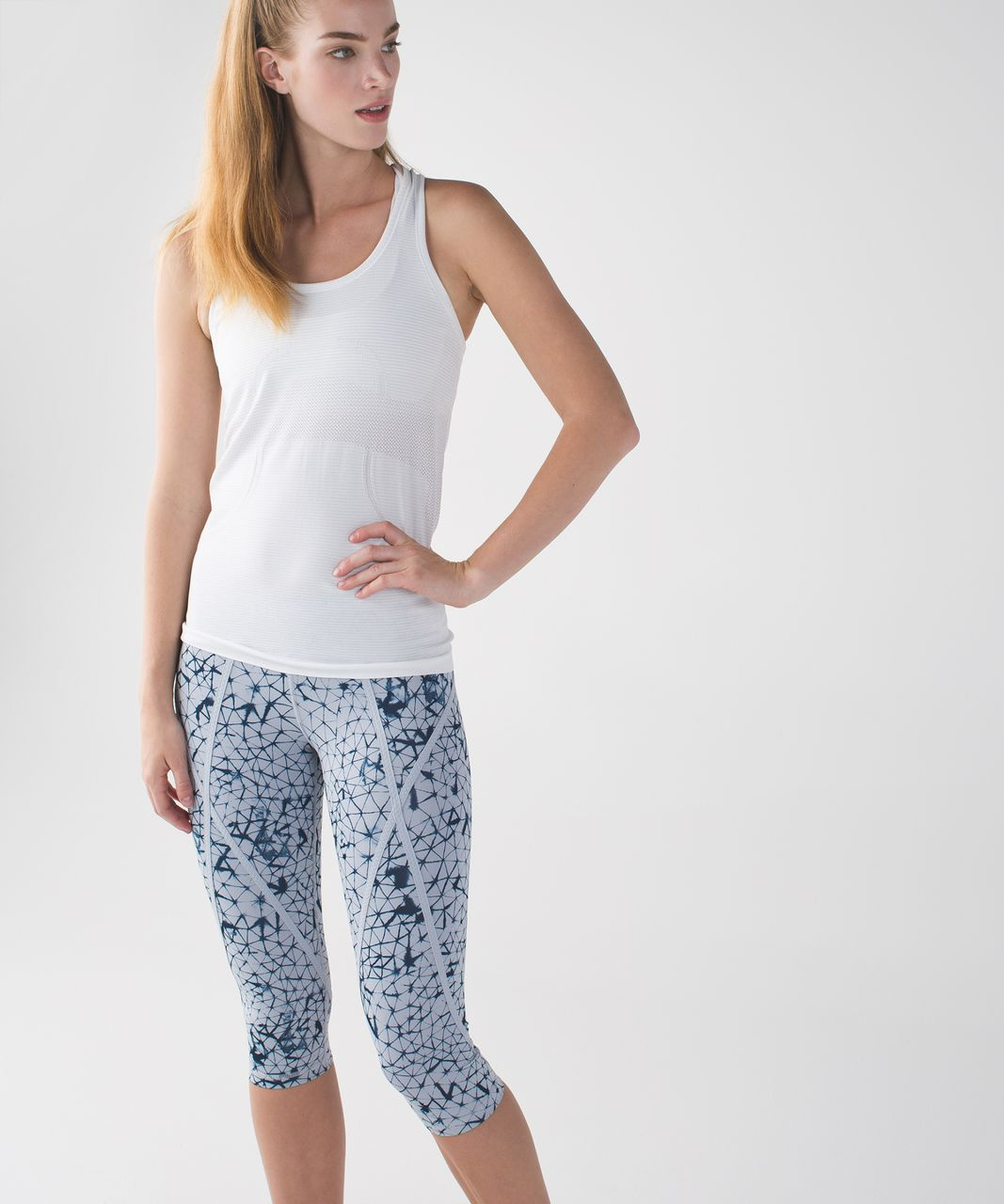 Lululemon Pedal Pace Crop. Star Crushed Silver Fox ...