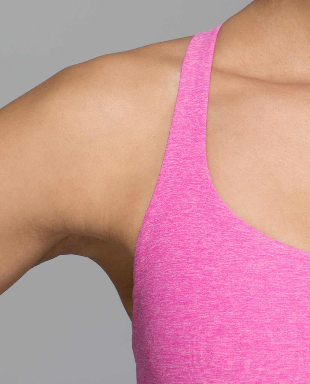 Lululemon Free To Be Bra (Wild) - Heathered Jewelled Magenta