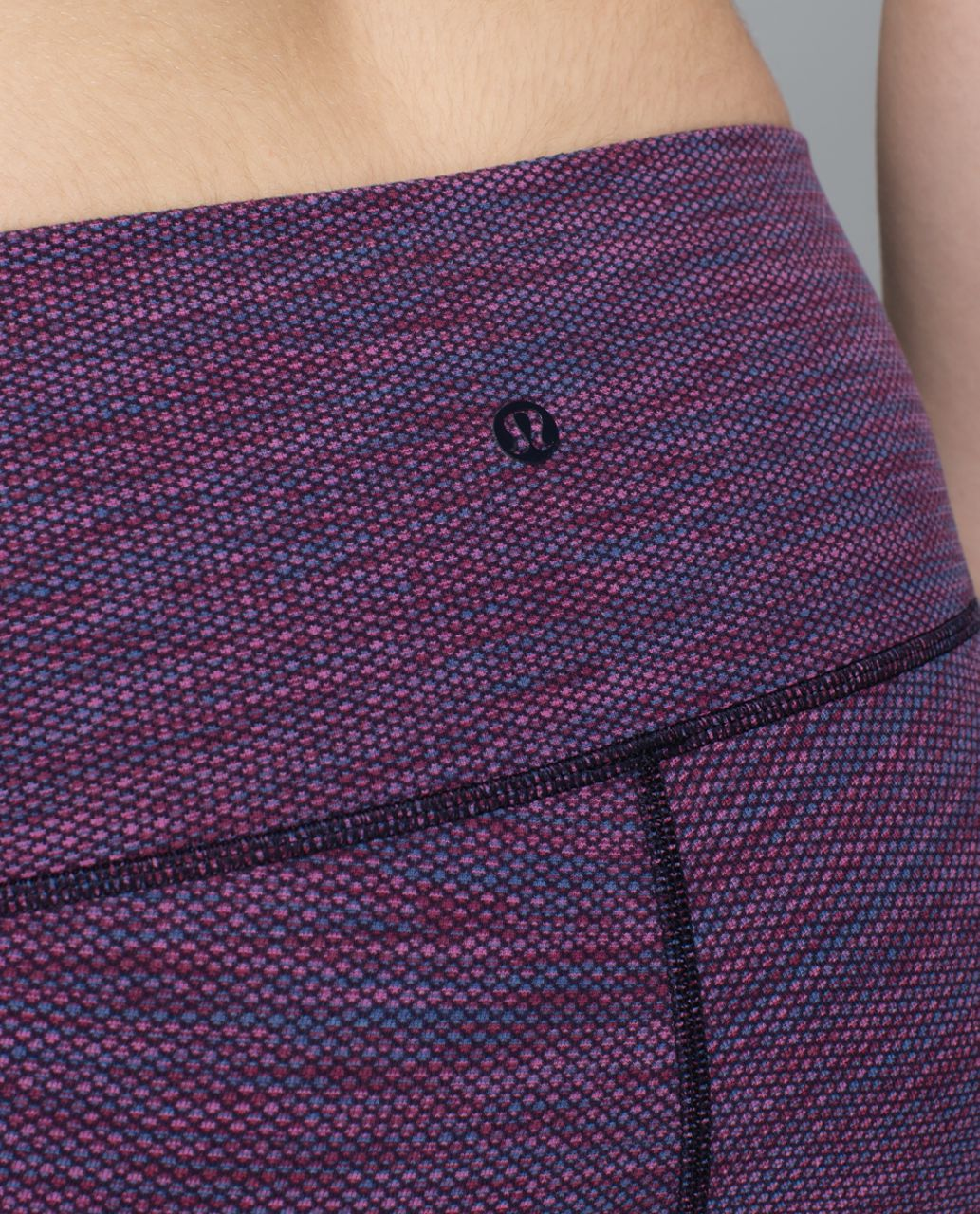 Lululemon High Times Pant - Diamond Jacquard Space Dye Naval Blue Jewelled Magenta