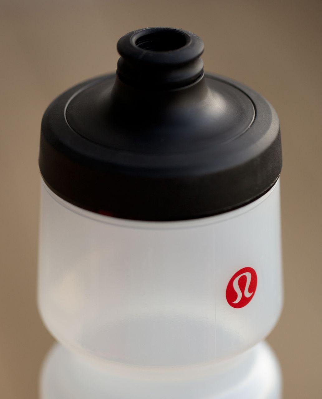 Lululemon Purist Cycling Water Bottle - Game Set Match Black Lulu Red