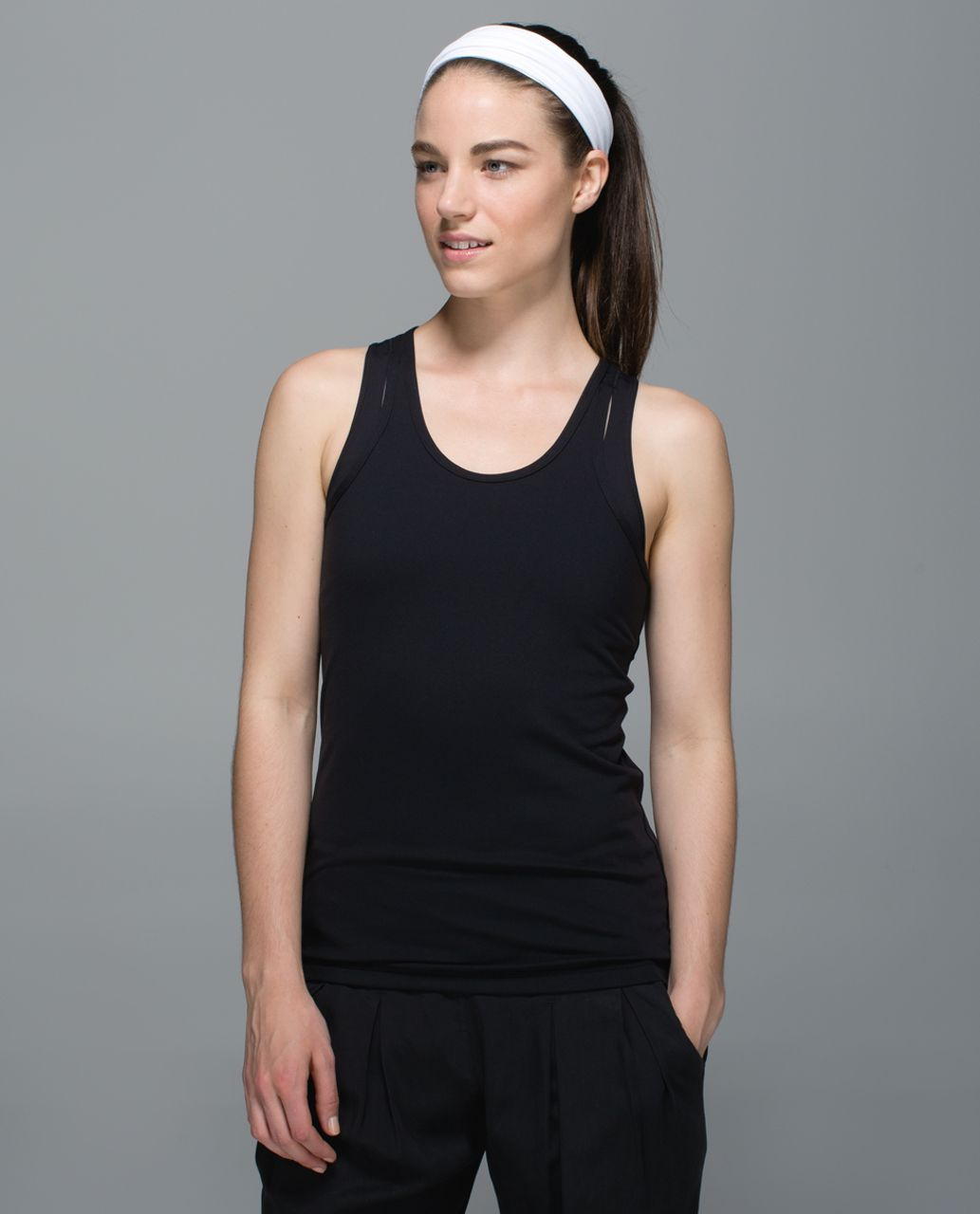Lululemon Fringe Fighter Headband - White (First Release)