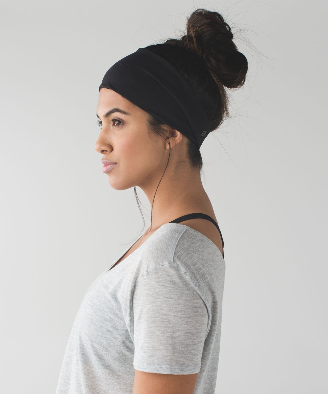 Lululemon Fringe Fighter Headband - Black