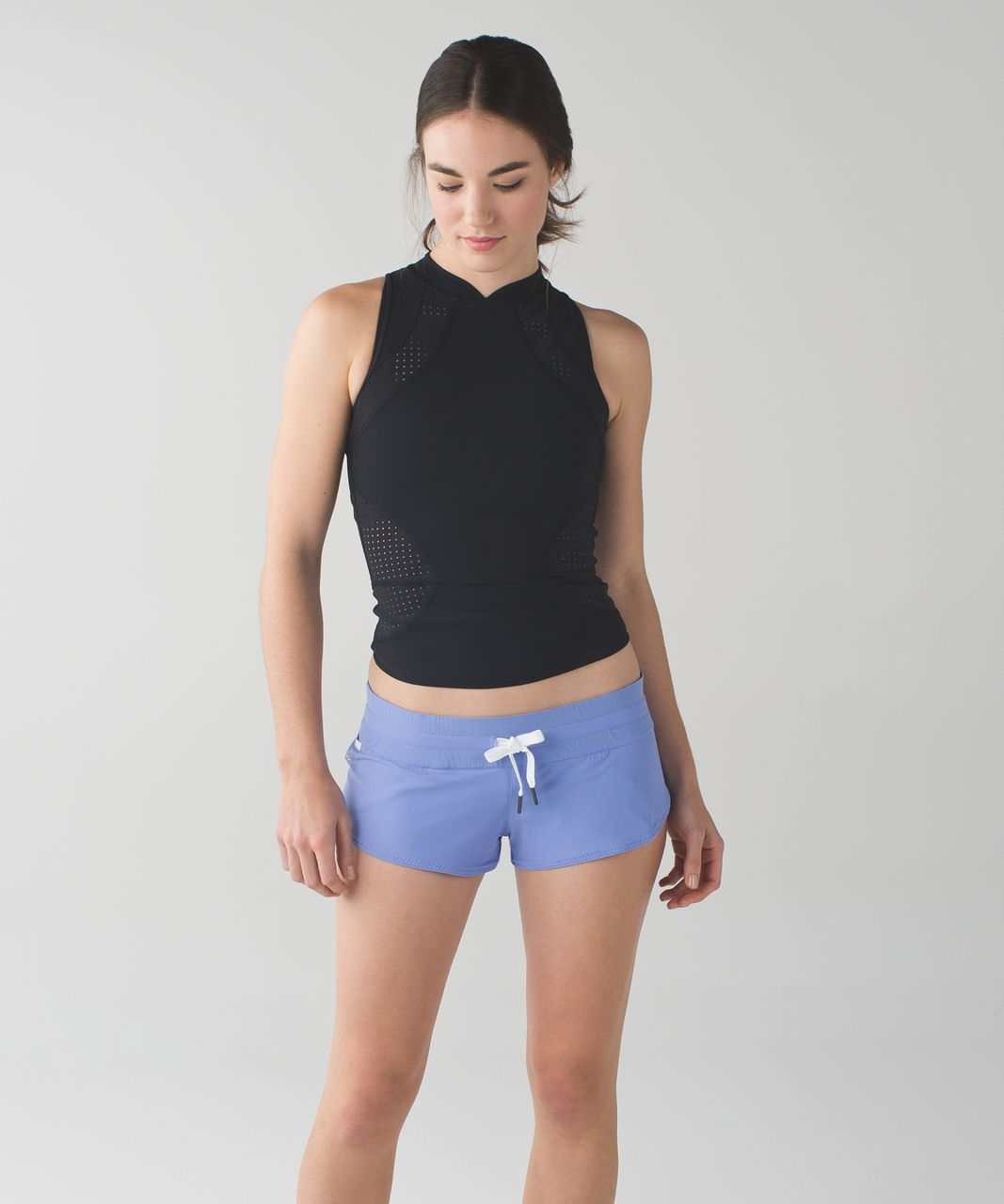 94798607da Lululemon Water: Surf Short - Lullaby / Heathered Texture Printed Greyt  Deep Coal