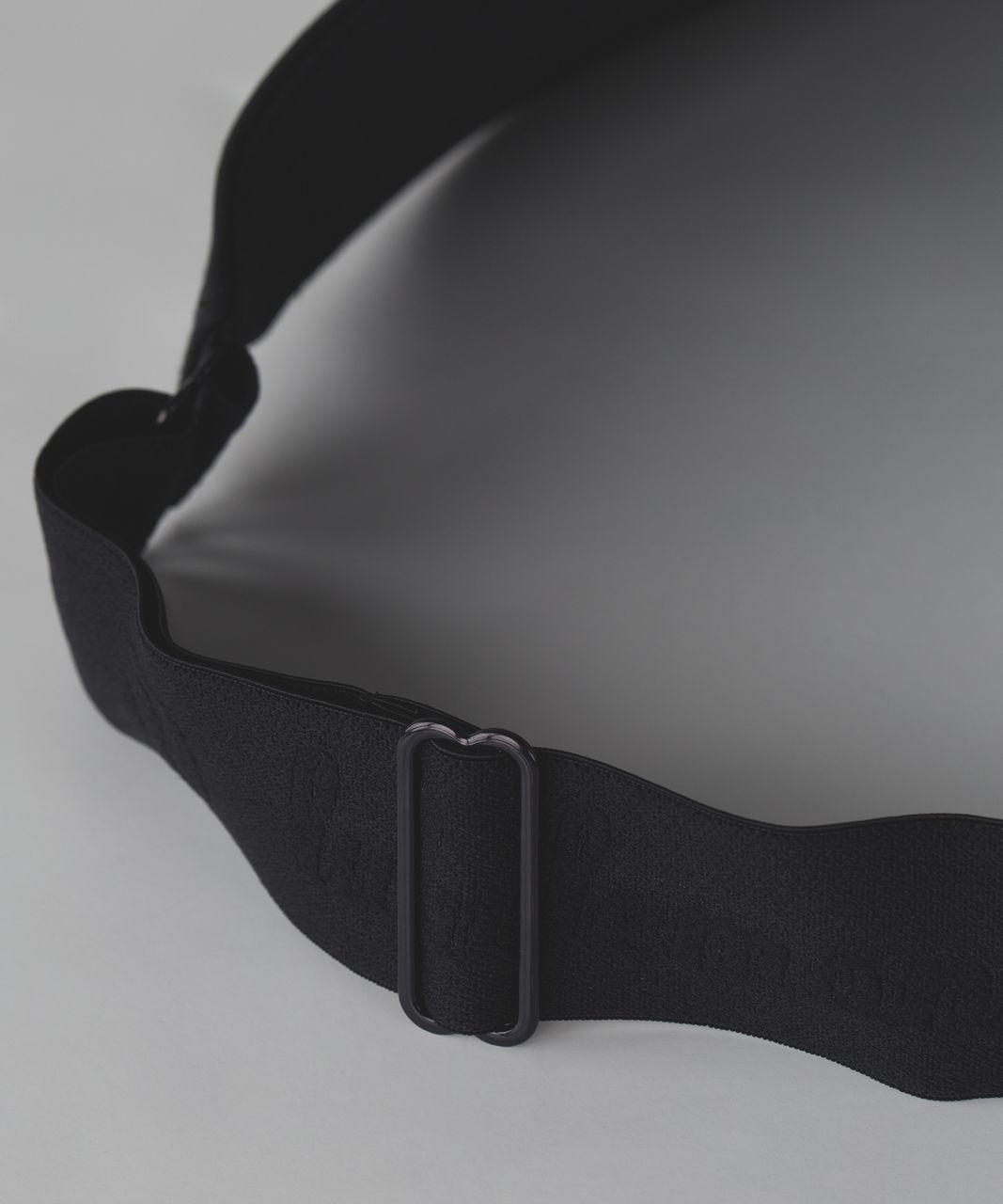 Lululemon Fast Paced Run Visor - Black (Second Release)