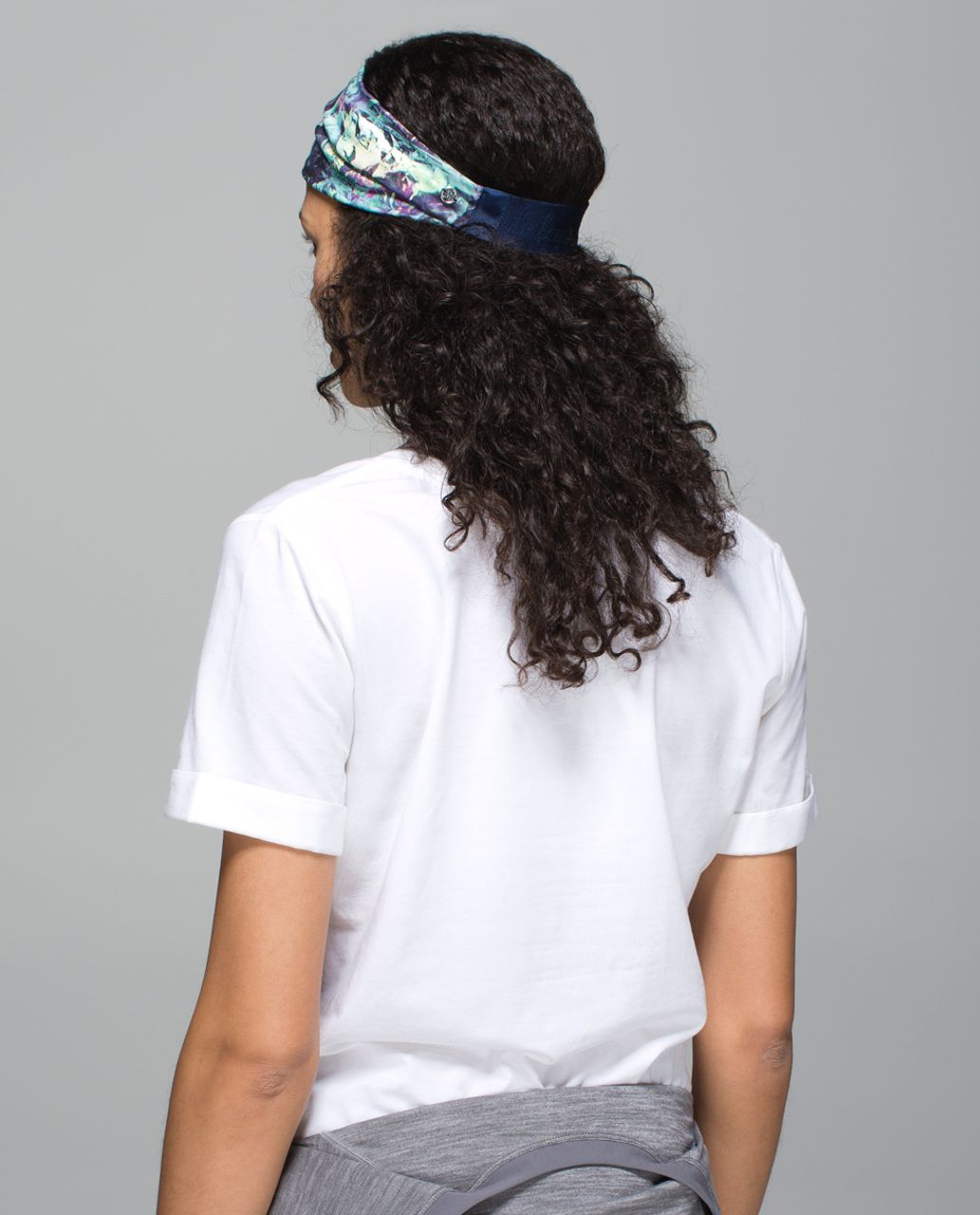 Lululemon Fringe Fighter Headband - Iridescent Multi / Heathered Deep Navy