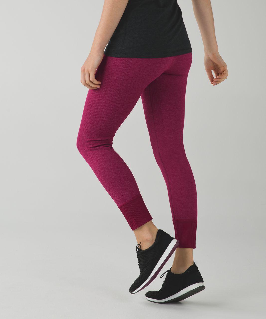 Lululemon Ebb To Street Pant - Heathered Dashing Purple