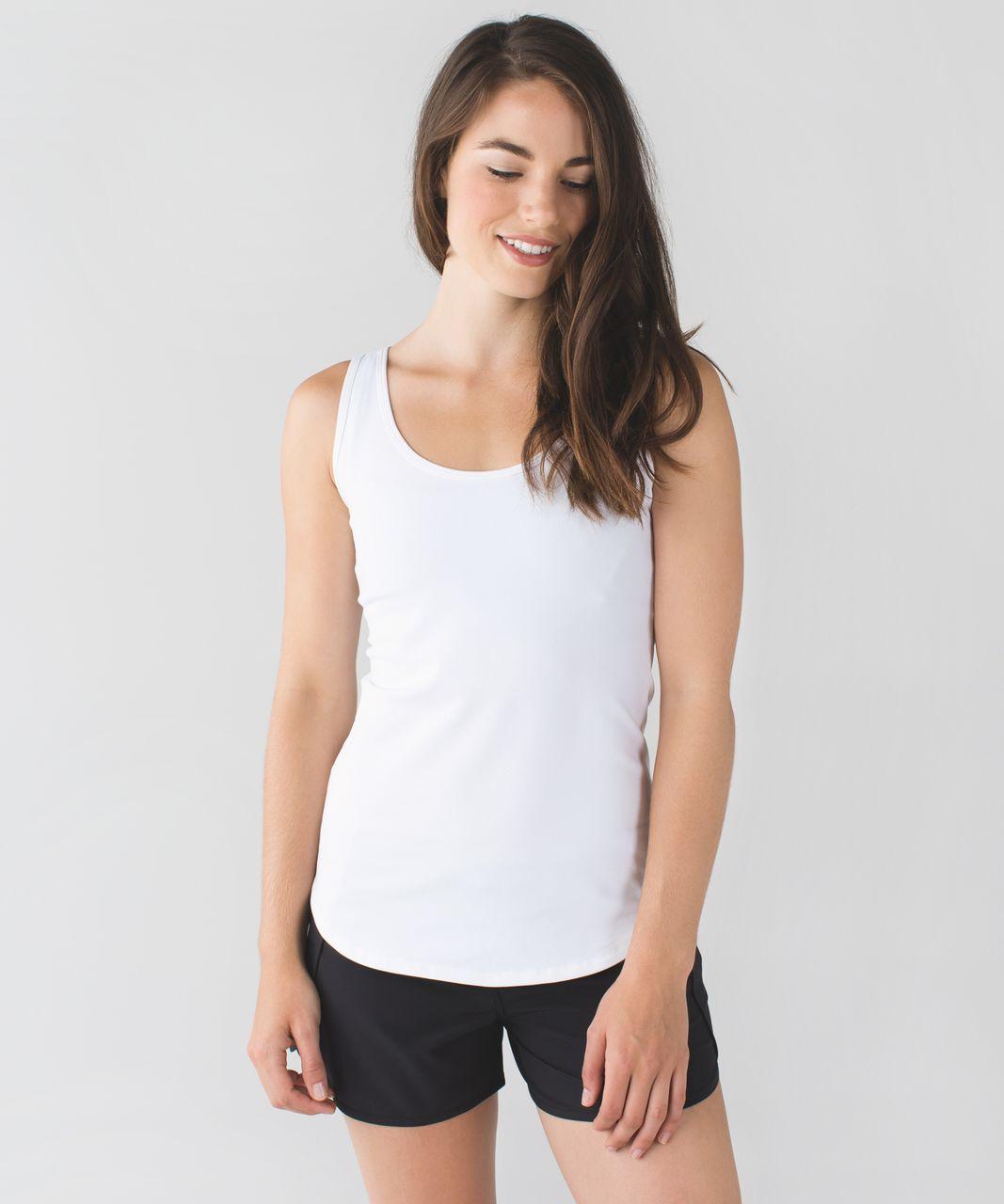 Lululemon Straight Up Tank - White