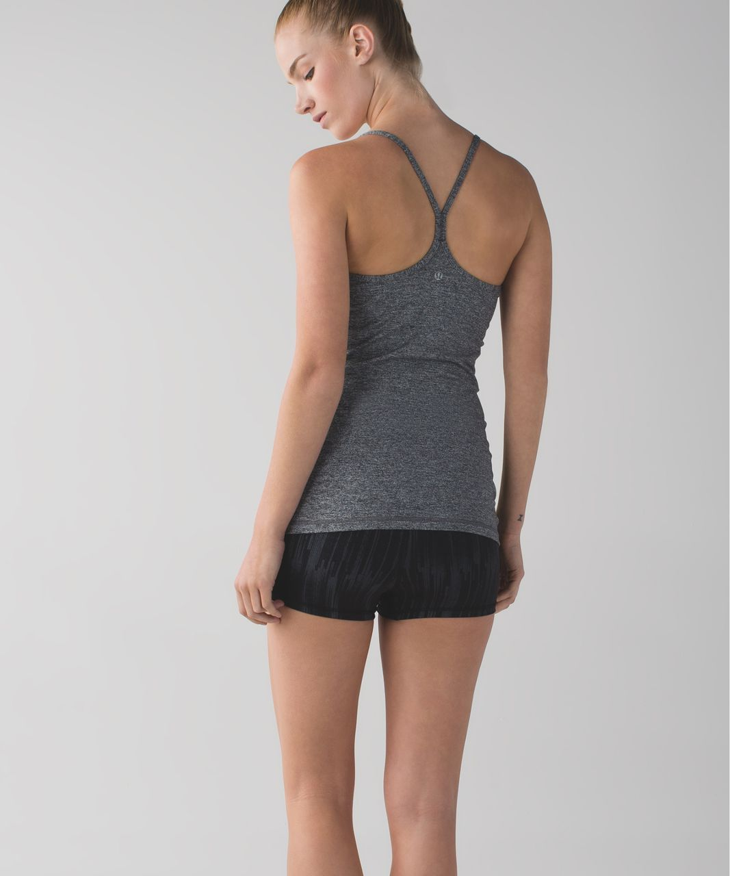 Lululemon Boogie Short *Luxtreme (Roll Down) - Scratch Match Black Multi