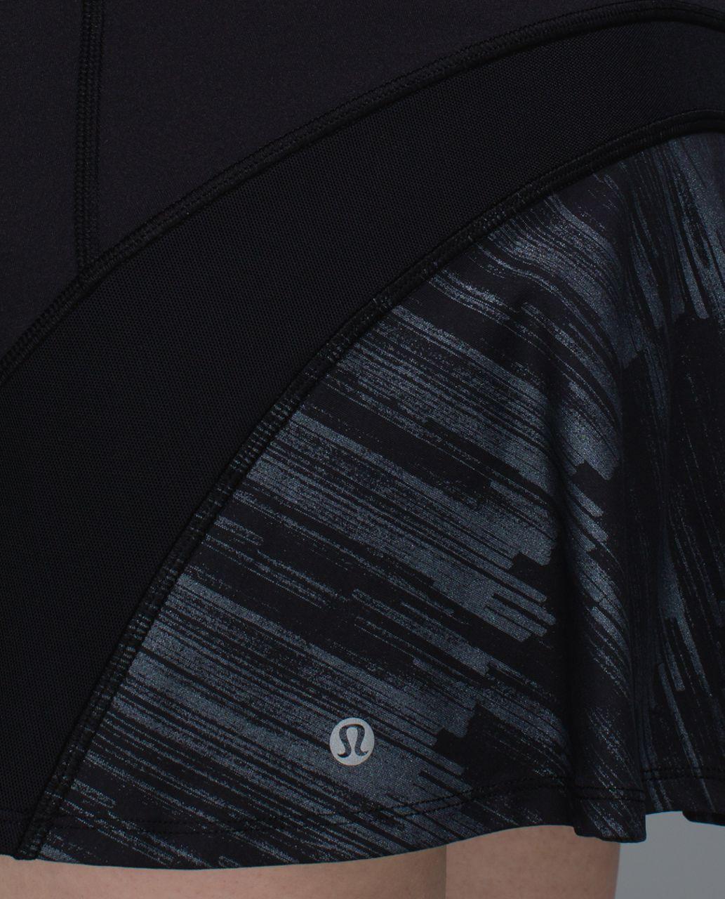 23dcfe9ba Lululemon Ace Skirt - Black / Scratch Match Black Multi - lulu fanatics