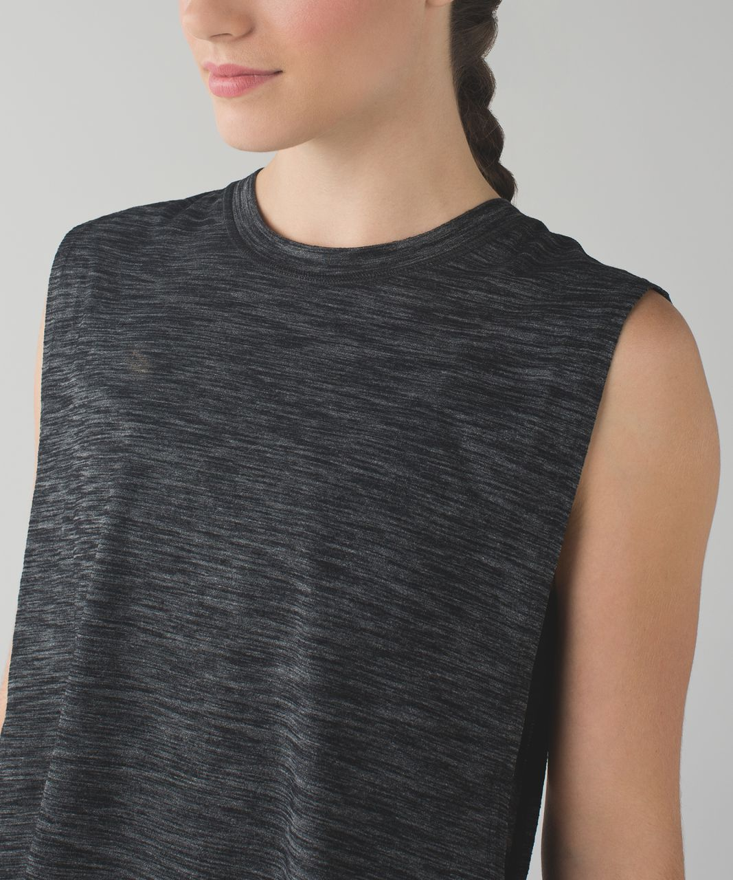 Lululemon Layer Up Dress - Heathered Black