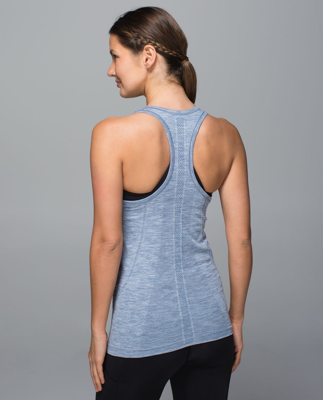 Lululemon Swiftly Tech Racerback - Heathered Blue Denim (First Release)