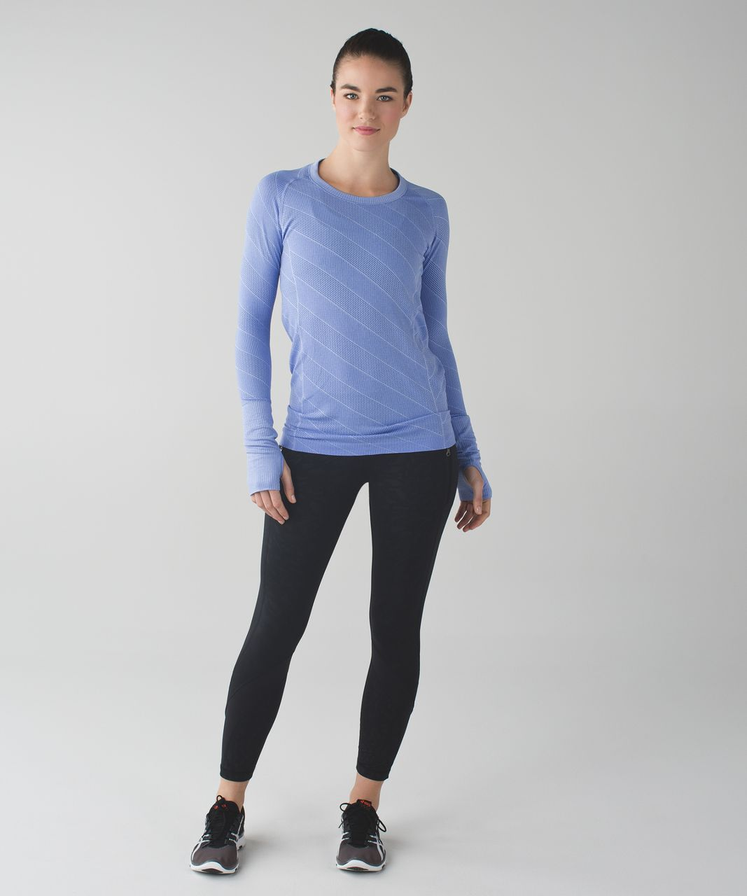 Lululemon Swiftly Tech Long Sleeve Crew - Heathered Lullaby (First Release)