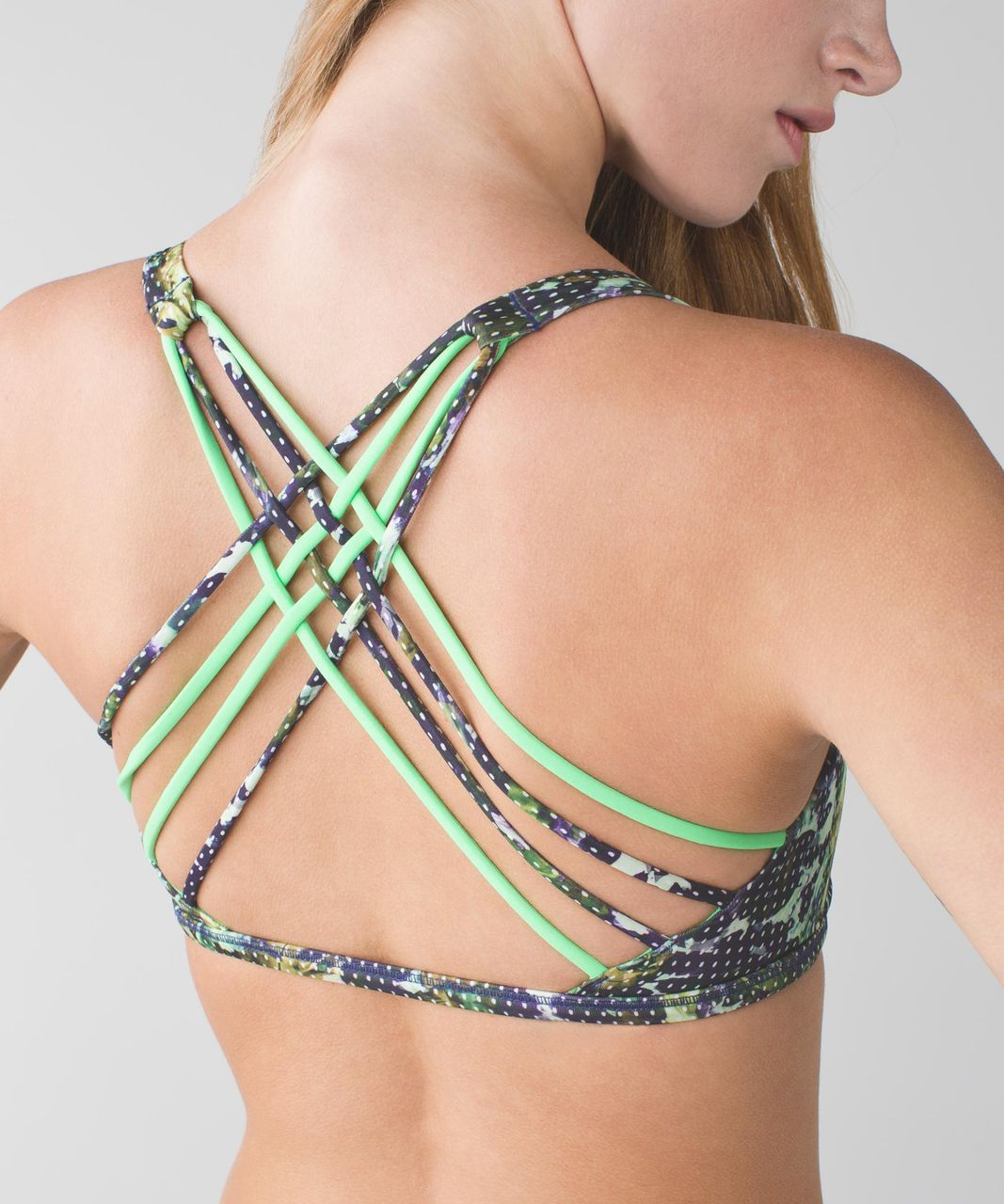 Lululemon Free To Be *Wild - Floral Sport White Multi / Pistachio