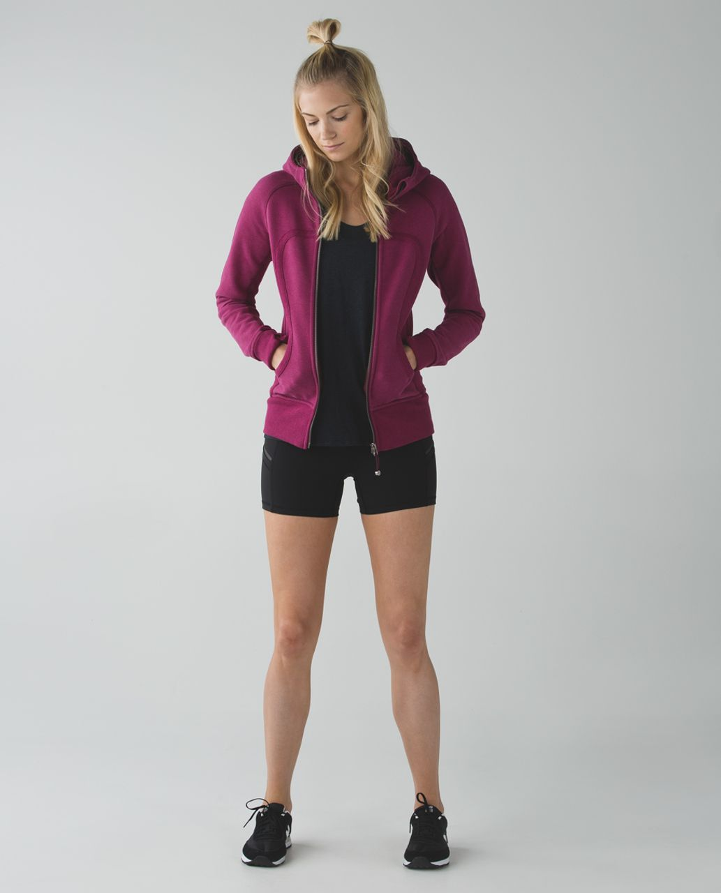 Lululemon Scuba Hoodie II - Heathered Dashing Purple