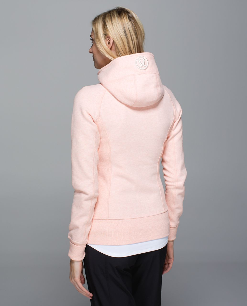 Lululemon Scuba Hoodie II - Heathered Blush Quartz / Angel Wing
