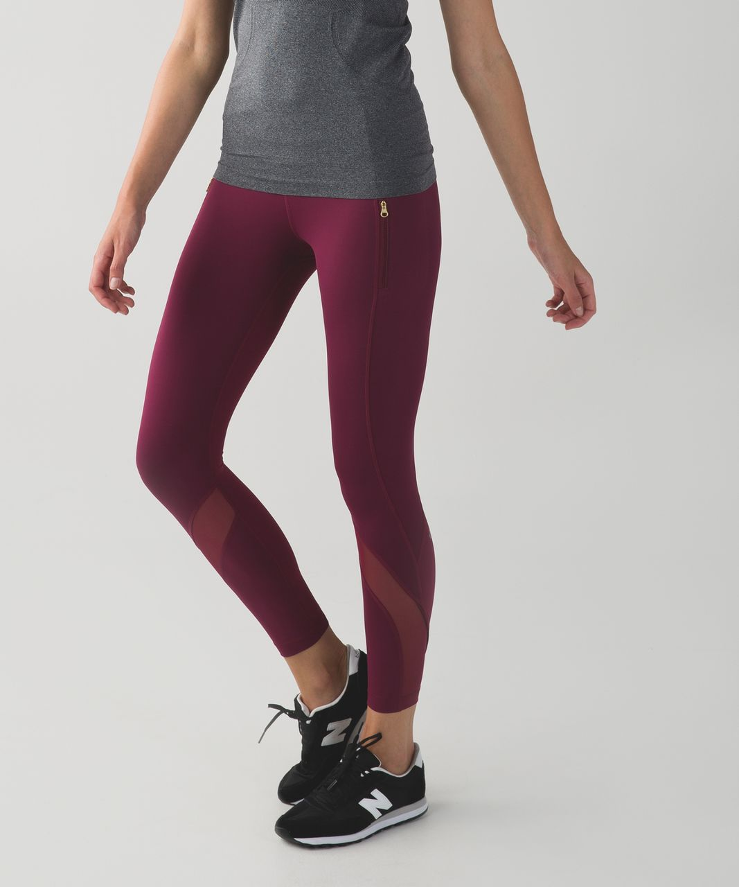 0917ff7775 Lululemon Inspire Tight II (Mesh) - Dashing Purple - lulu fanatics