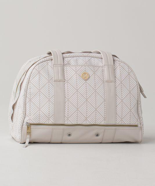 a6f8ef8f26f Om for All Bag *Cotton - Diamond Palm White Dune / Dune