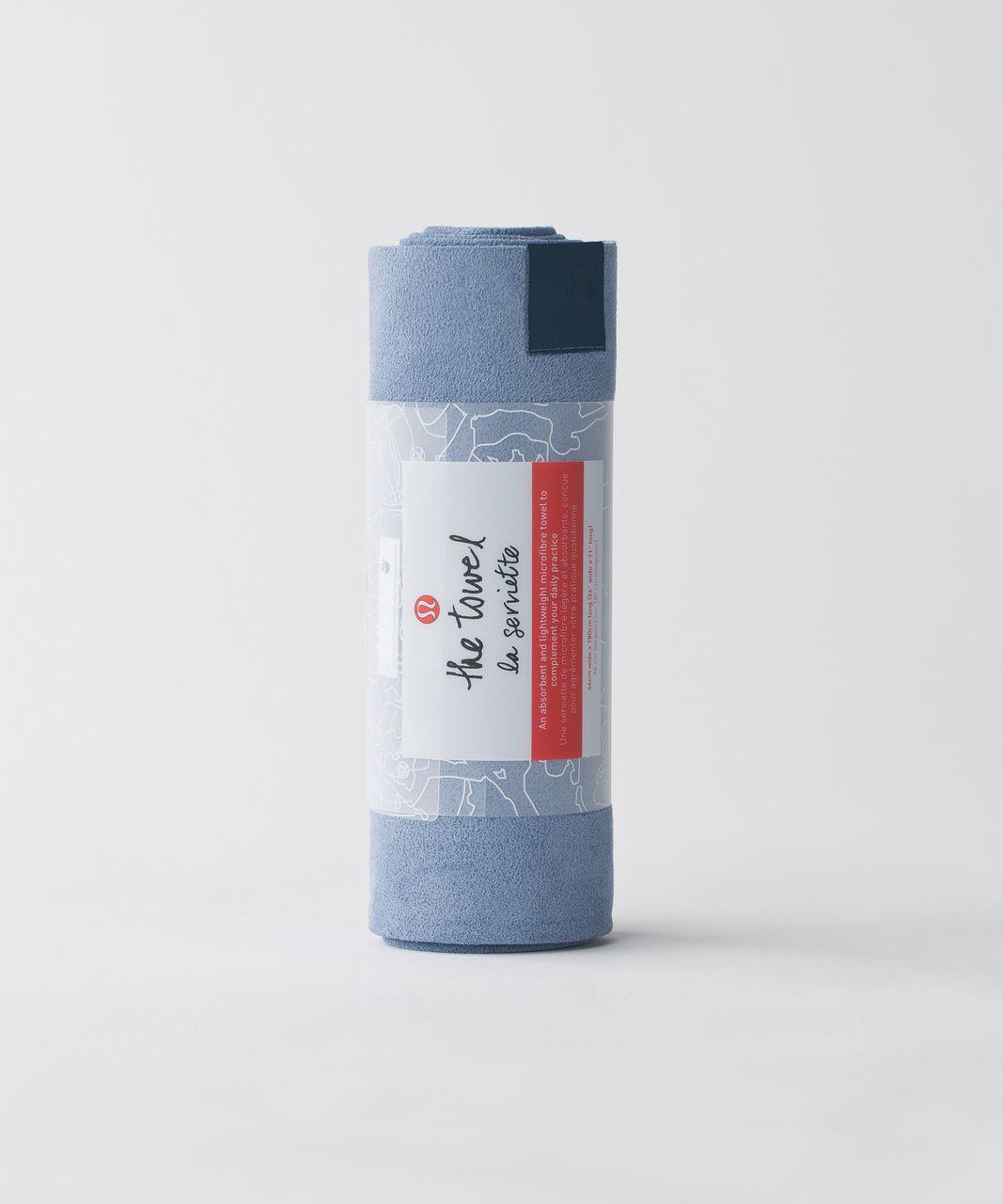Lululemon The Towel - Tempest Blue