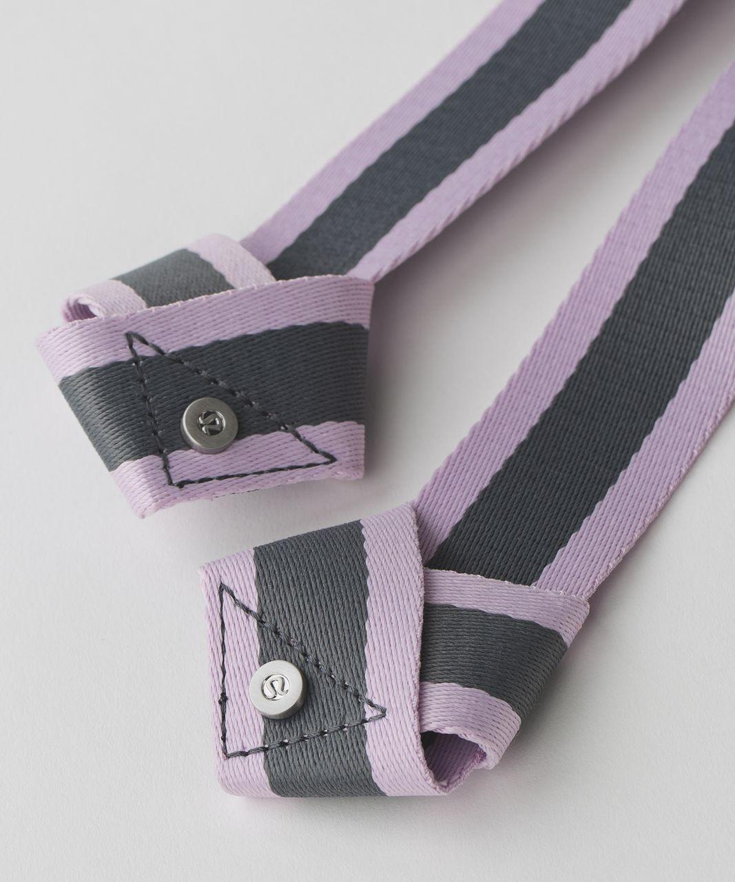 Lululemon Loop It Up Mat Strap - Pretty Purple / Slate