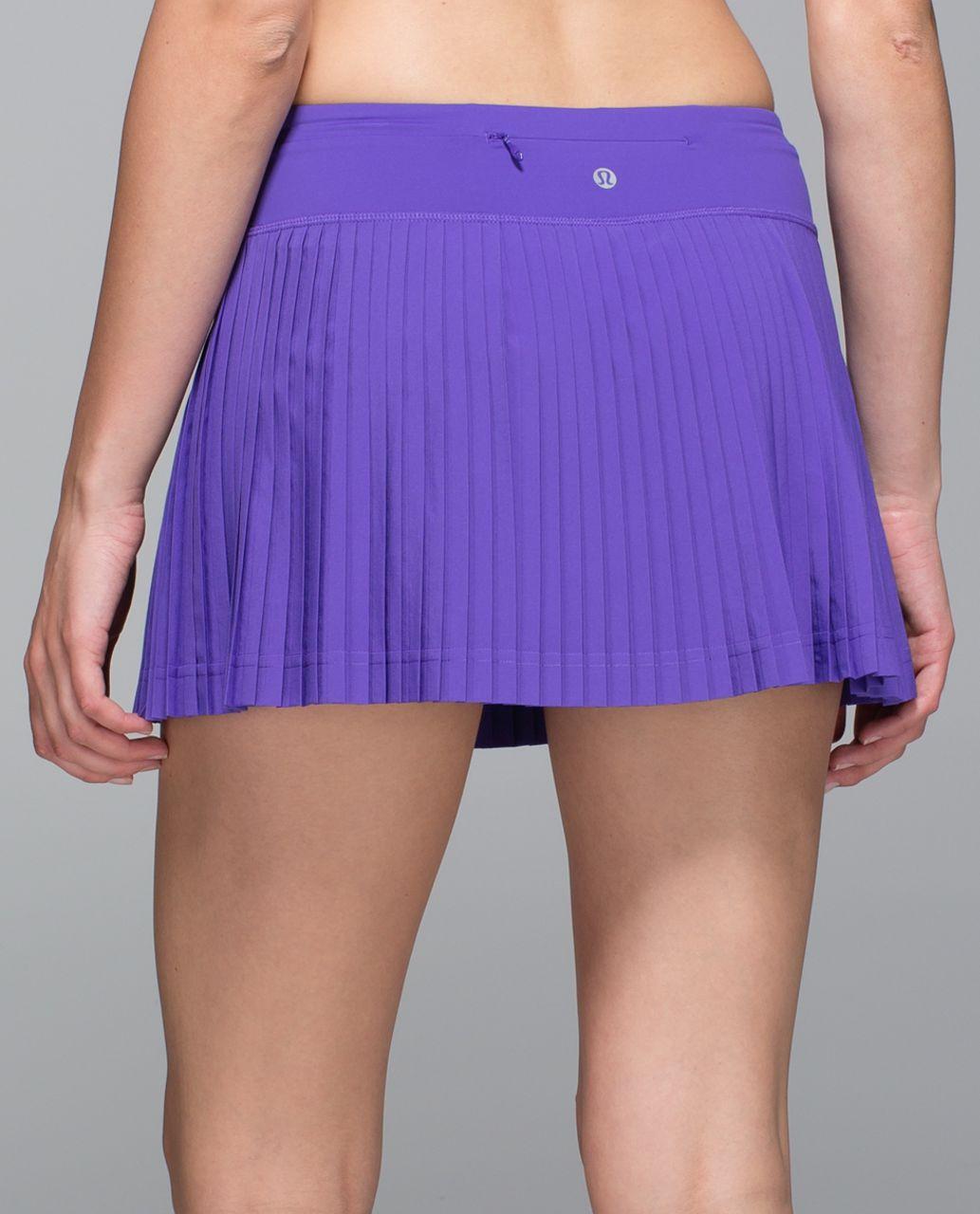 a756b4852e Lululemon Pleat To Street Skirt II - Iris Flower - lulu fanatics