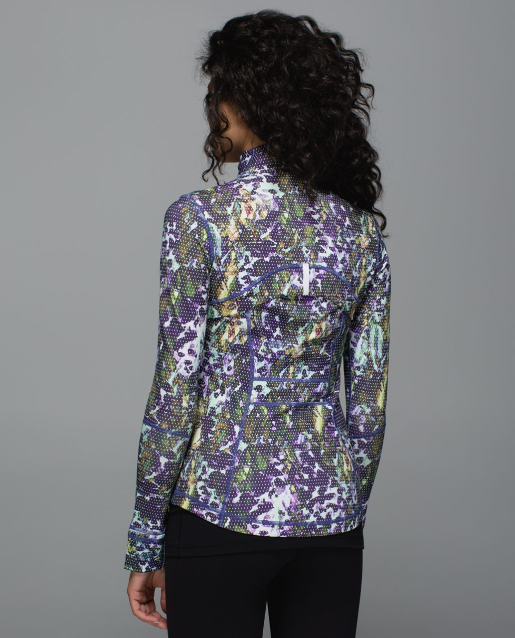 Lululemon Define Jacket - Floral Sport White Multi