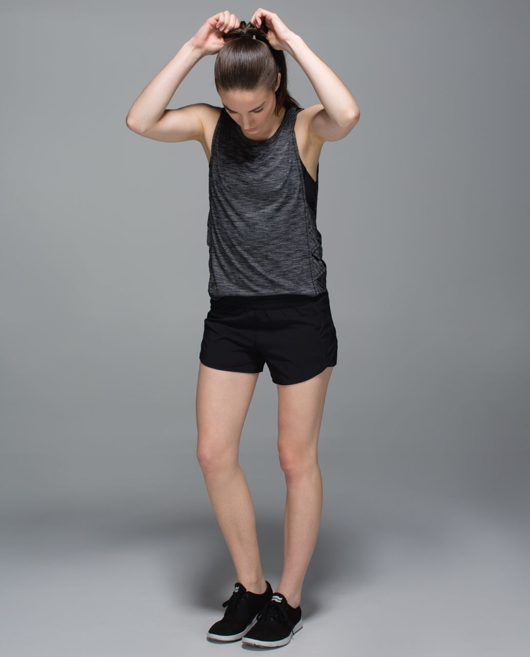 Lululemon Pleat To Street Short - Black