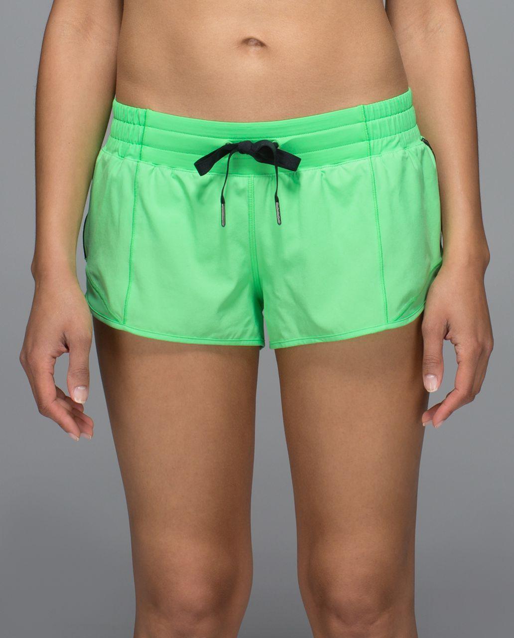 """Lululemon Hotty Hot Short *2.5"""" - Pistachio"""