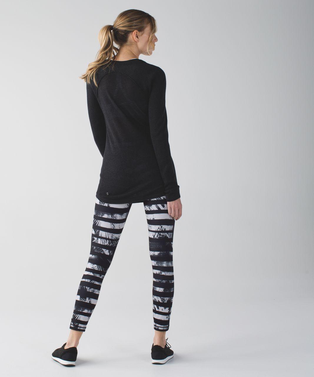 Lululemon High Times Pant *Full-On Luon - Shady Palms Black White