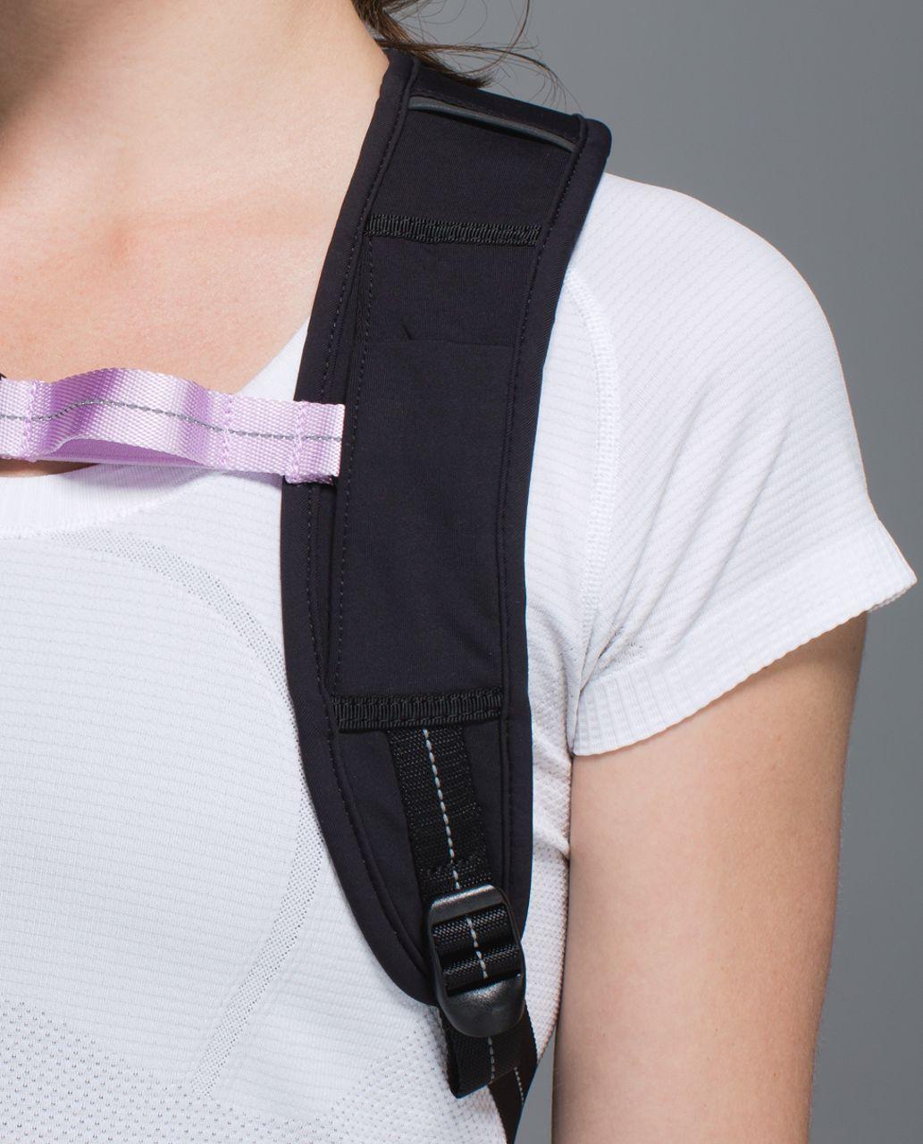 Lululemon Run All Day Backpack - Dottie Dash Slate Black