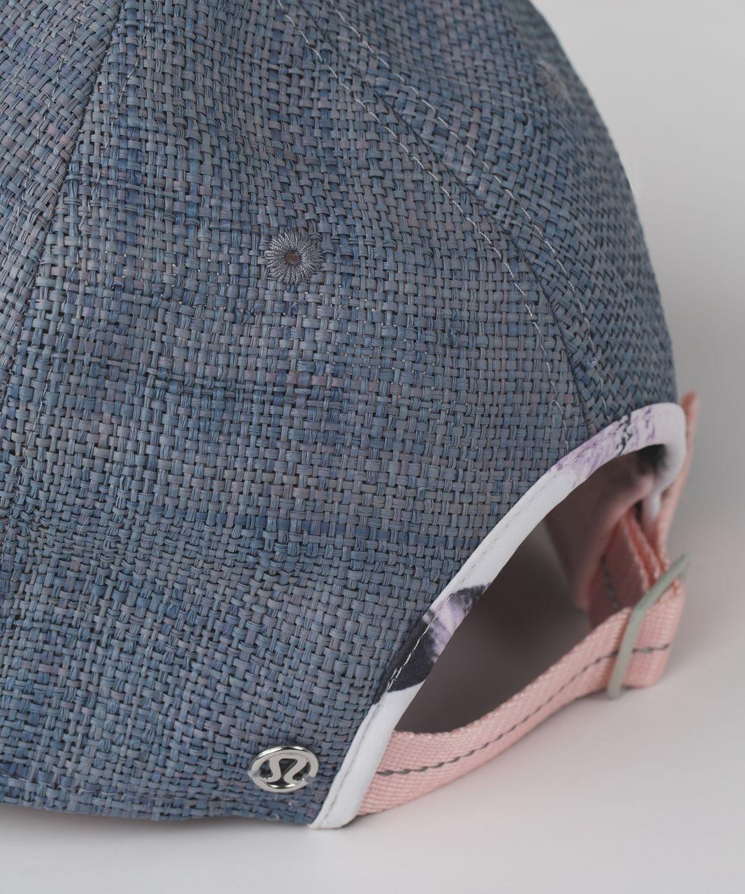 Lululemon Baller Hat *Straw - Sunset Stripe Blush Quartz Multi / Blush Quartz
