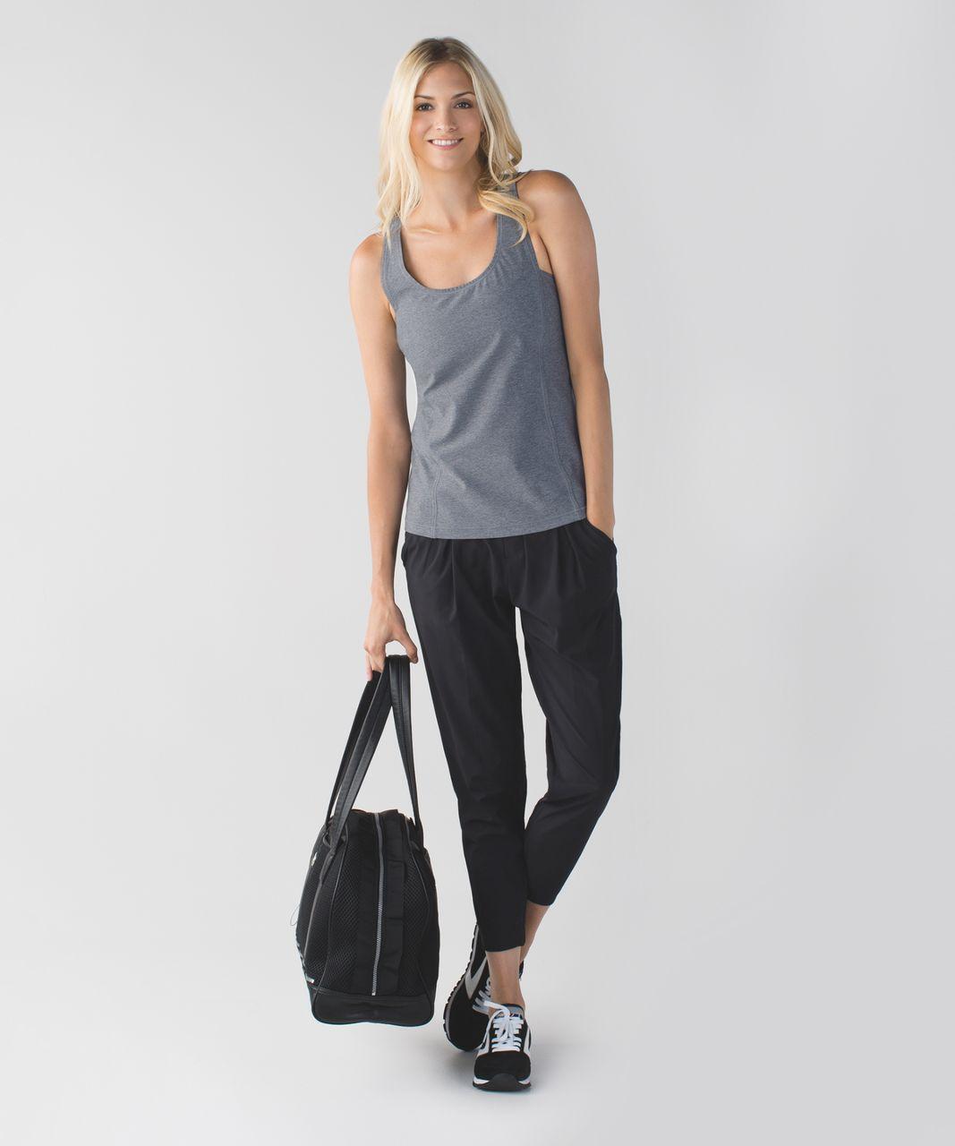 Lululemon Sweaty Or Not Tank - Heathered Slate
