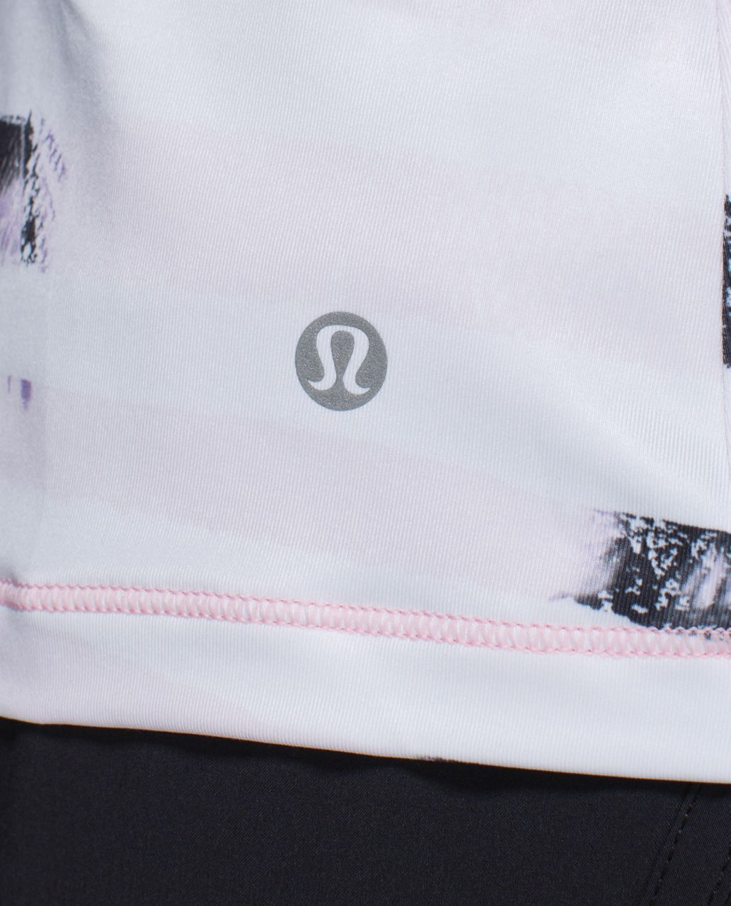 Lululemon Sweaty Or Not Tank - Sunset Stripe Blush Quartz Multi