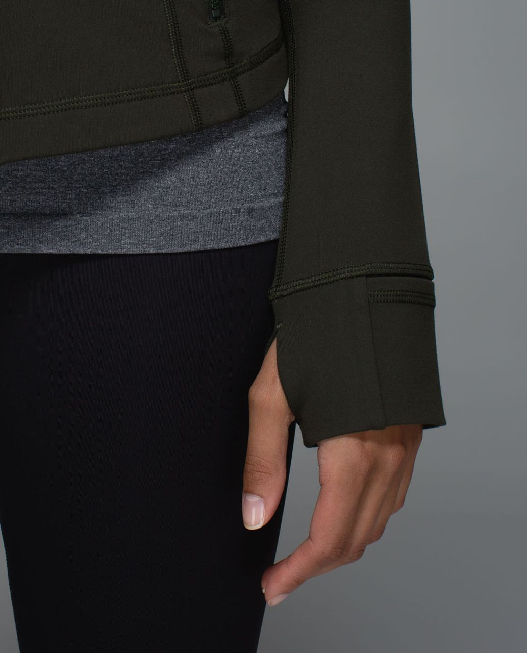 Lululemon Define Jacket - Gator Green