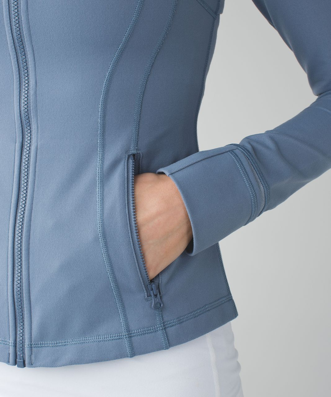 Lululemon Define Jacket - Blue Denim