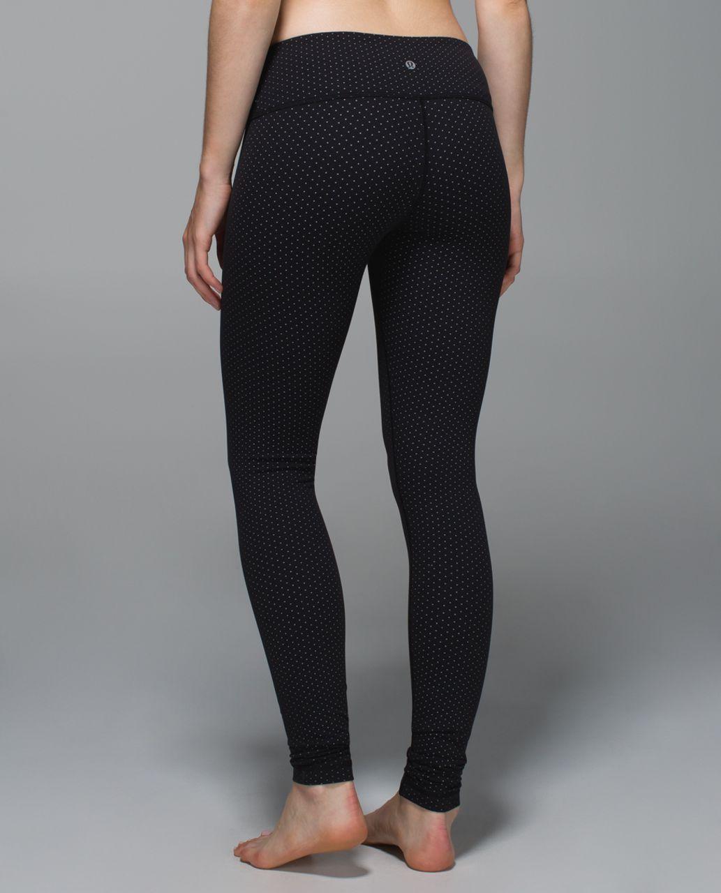Lululemon Wunder Under Pant *Full-On Luon - Teeny Dot Black White