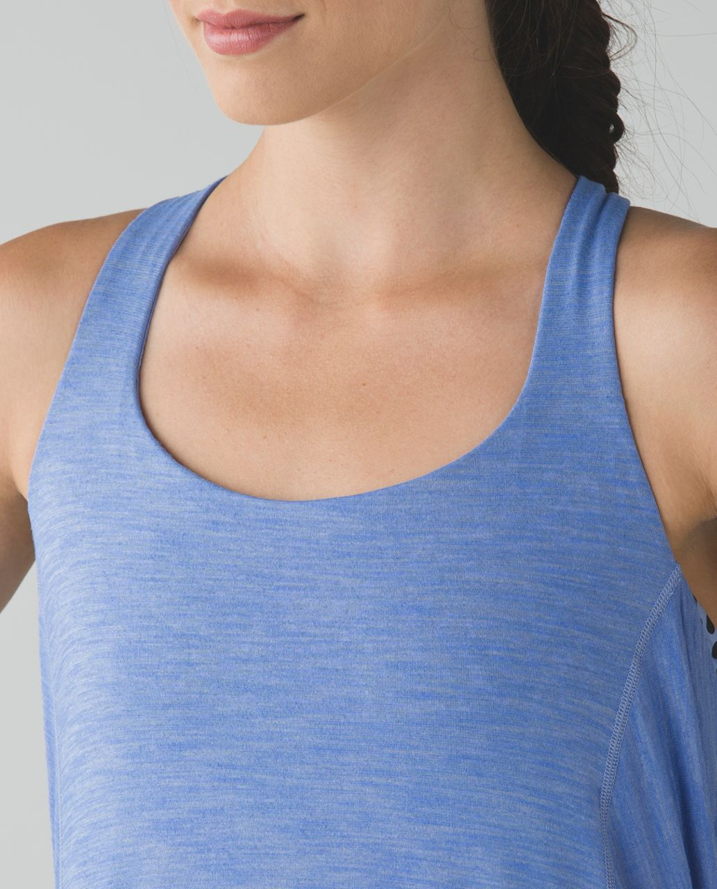 Lululemon Wild Tank - Heathered Lullaby / Ace Spot Lullaby Black / Lullaby
