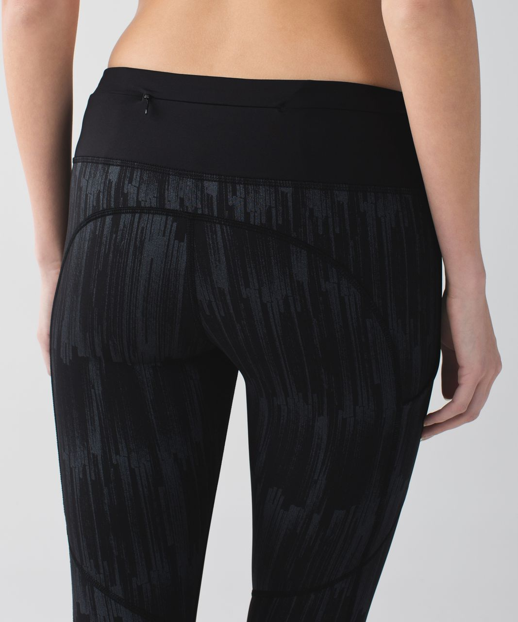 Lululemon Speed Tight III *All Full-On Luxtreme - Scratch Match Black Multi / Black