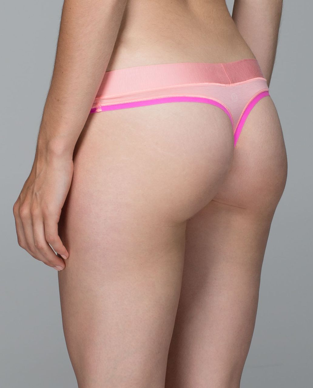 Lululemon Mula Bandhawear Thong - Bleached Coral / Pow Pink Light