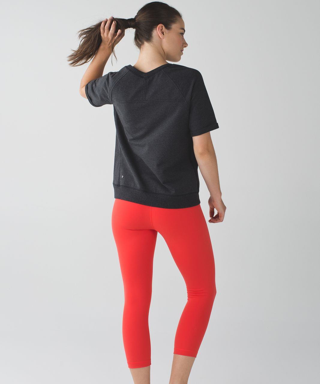 Lululemon Wunder Under Crop II *Full-On Luon - Alarming