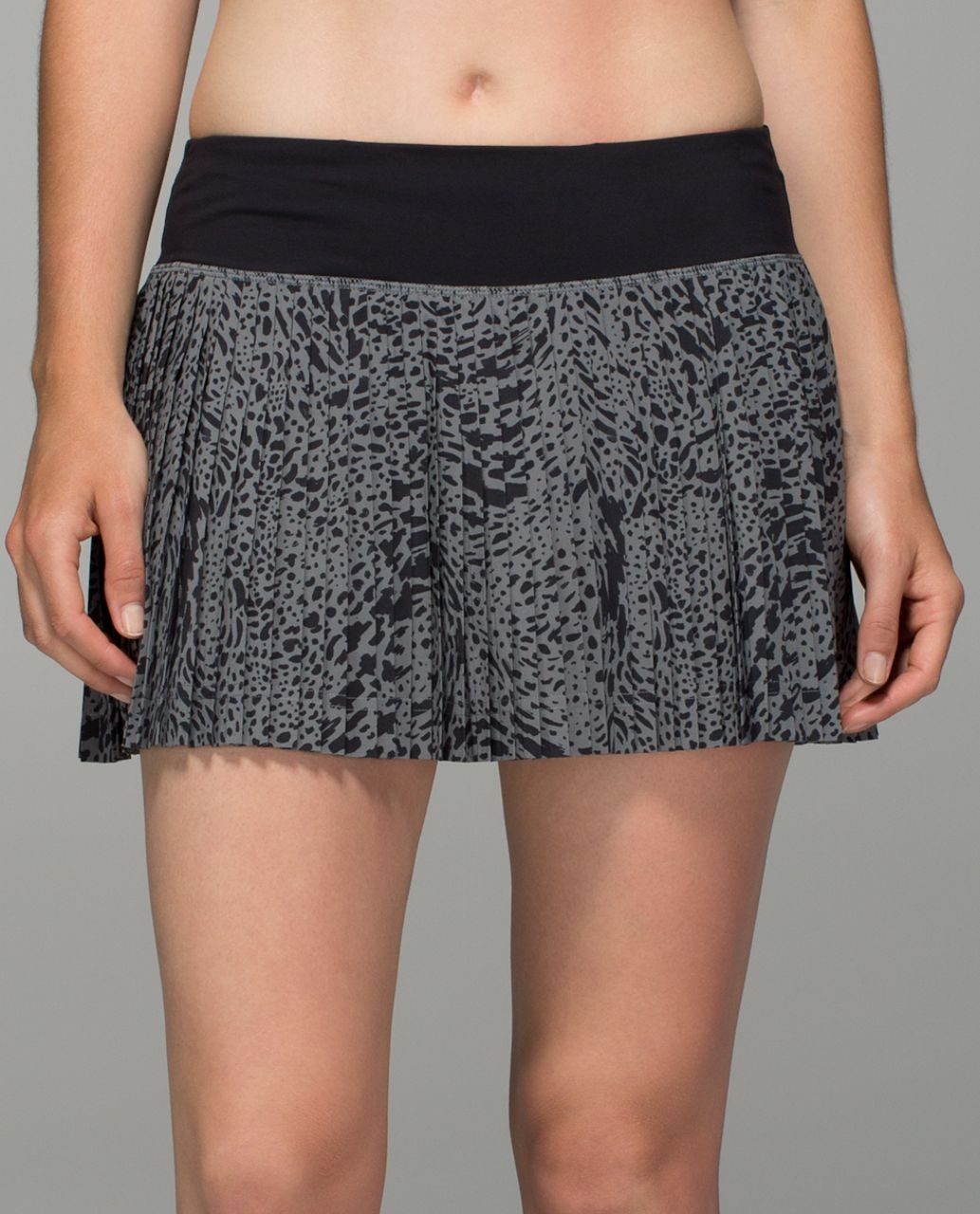 88e48cccf6 Lululemon Pleat To Street Skirt II - Watermark Slate Black - lulu fanatics