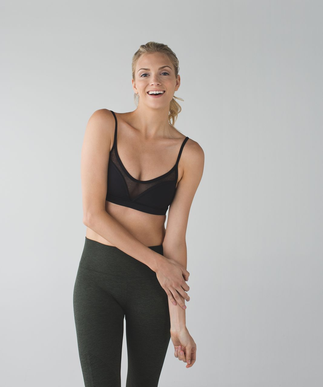 Lululemon Dance To Yoga Bra - Black