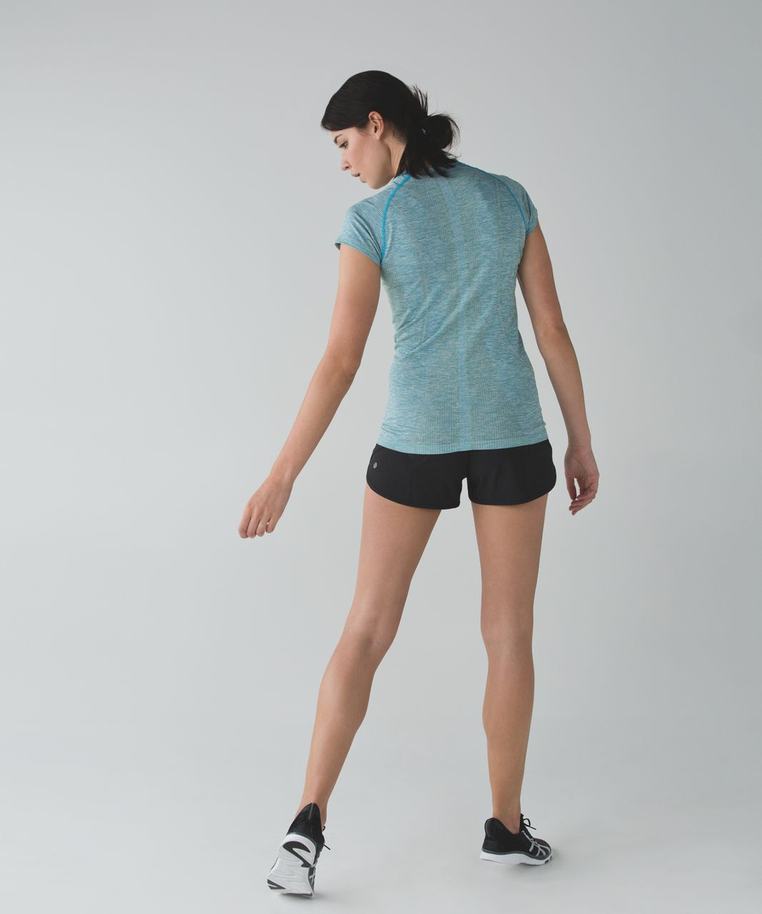 Lululemon Swiftly Tech Short Sleeve Crew - Peacock Blue / Tranquil Blue